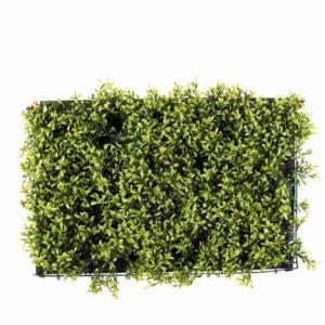 פאנלים גרס ירוק דמוי גדר אנגלית