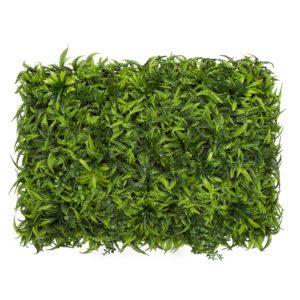 פאנלים ירוק דמוי שרך משולב